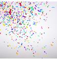Varicolored Confetti vector image vector image