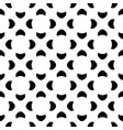 abstract pattern with simple geometric figures vector image vector image