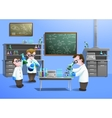 Chemical Laboratory Concept vector image