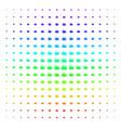 explosion boom icon halftone spectral grid vector image