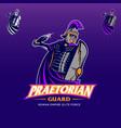 praetorian guard vector image vector image
