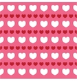 romantic texture with hearts Valentine day vector image