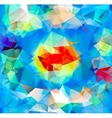 triangle background pattern geometric shapes vector image