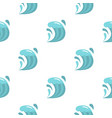 wave pattern flat vector image vector image
