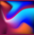 background with vibrant motion dynamical fluids vector image vector image