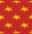 boom seamless pattern vector image vector image
