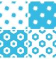Burst patterns set vector image vector image