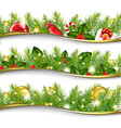 Christmas Garland Set vector image vector image