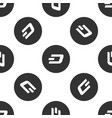 cryptocurrency coin dash icon seamless pattern vector image vector image