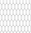 Geometric abstract seamless simple linear pattern vector image