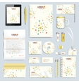 Set of corporate identity template Modern