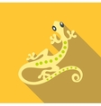 Small gecko icon flat style vector image vector image