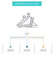 success personal development leader career vector image