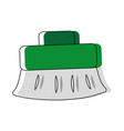 broom icon image vector image