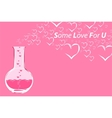 chemistry love vector image vector image