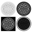 Chinese Lucky Symbol vector image vector image