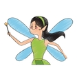 fairy cartoon icon vector image vector image