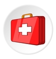 First aid kit icon cartoon style vector image vector image