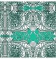 Hand-drawn doodles Zentangle pattern vector image vector image
