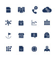 icon set icons for web apps programs and other vector image