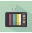 TV entertainment design vector image