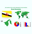 38 brunei darussalam all countries of the world vector image