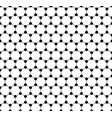 graphene seamless pattern carbon lattice black vector image vector image