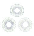 Intricate rosettes vector image vector image