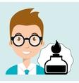 student laboratory tools vector image