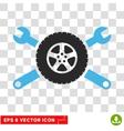 Tire Service Eps Icon vector image vector image