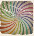 Vintage spiral background vector image vector image