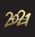 2021 new year cart 2021 new year vector image vector image