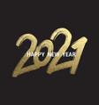 2021 new year cart new year vector image