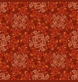 abstract floral seamless pattern swirl texture vector image