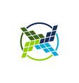 business bar logo design template vector image vector image