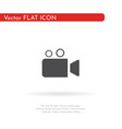 camera icon for web business finance and vector image vector image