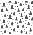 christams scandinavian seamless pattern vector image vector image