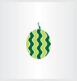 watermelon symbol logo element icon vector image vector image