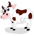 Cow Farm cartoon vector image