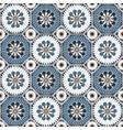 arabesque octagonal floral seamless pattern vector image