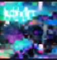 colorful blurred squares background abstract vector image vector image