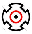 crosshair target mark icon symbol accuracy focus
