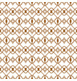 ligature pattern gold seamless line style vector image vector image