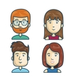 people community group icon vector image