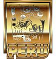 Ancient Peruvian gold ornament