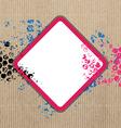 art grunge banner design vector image vector image