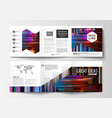 Business templates for tri fold brochures square