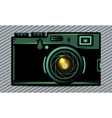 Luxury photo camera vector image