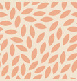 modern seamless autumn pattern with orange leaves vector image vector image