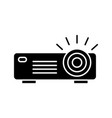 projector glyph icon vector image